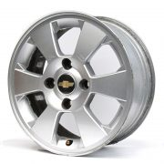 Chevrolet 6 Spokes Grey 15'' Lateral