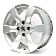Peugeot 6 Spokes Grey 16'' Lateral