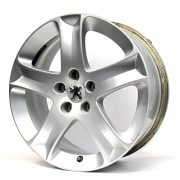 Peugeot 5 Spokes Grey 17'' Lateral